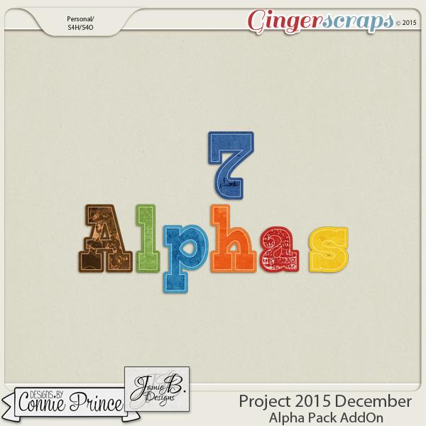 Project 2015 December - Alpha Pack AddOn