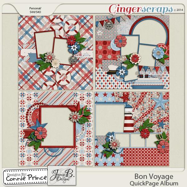 Bon Voyage  - QuickPage Album