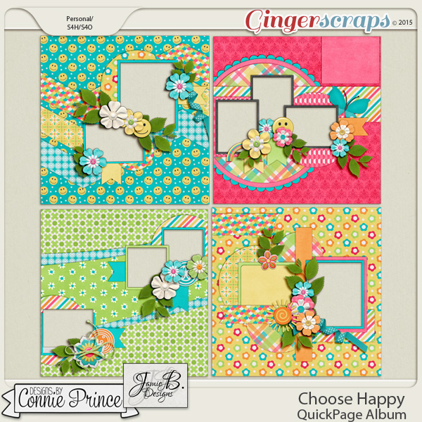 Choose Happy - QuickPages