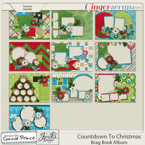 Countdown To Christmas - Brag Book Album