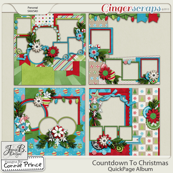 Countdown To Christmas - QuickPage Album