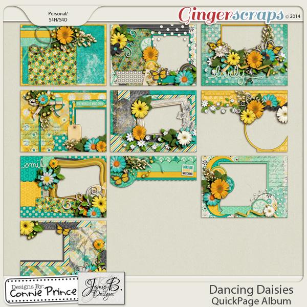 Dancing Daisies - Brag Book Album