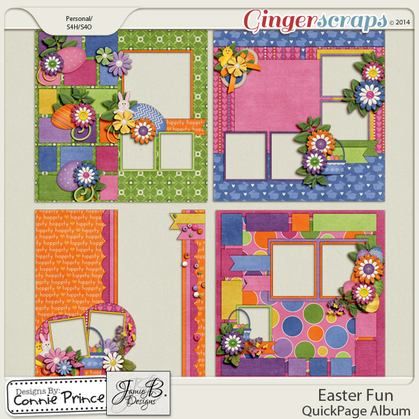 Easter Fun - QuickPage Album