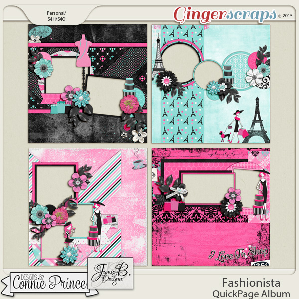 Fashionista - QuickPages