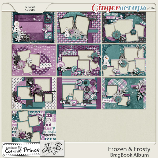Frozen & Frosty - BragBook Album