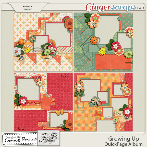 Growing Up  - QuickPage Album