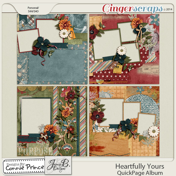 Heartfully Yours - QuickPage Album