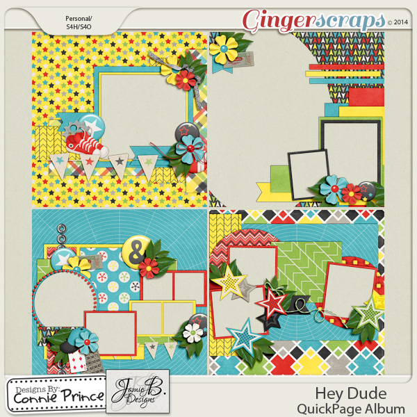 Hey Dude- QuickPage Album