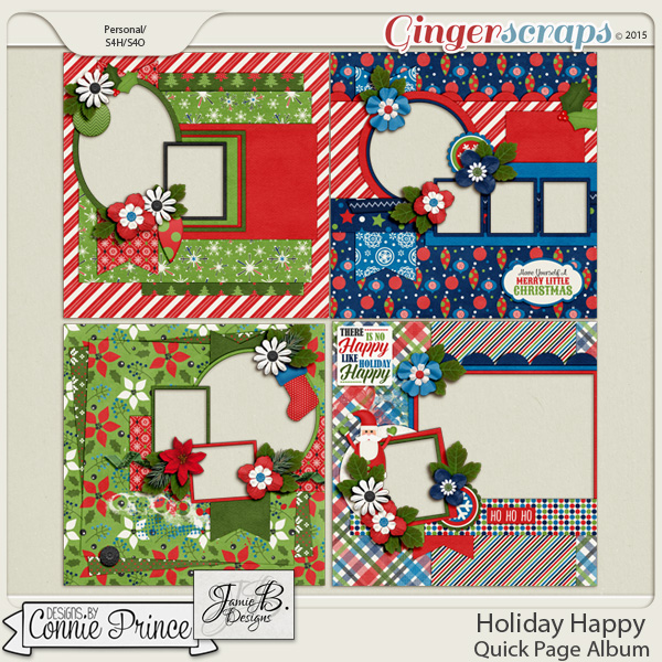 Holiday Happy - Quick Pages