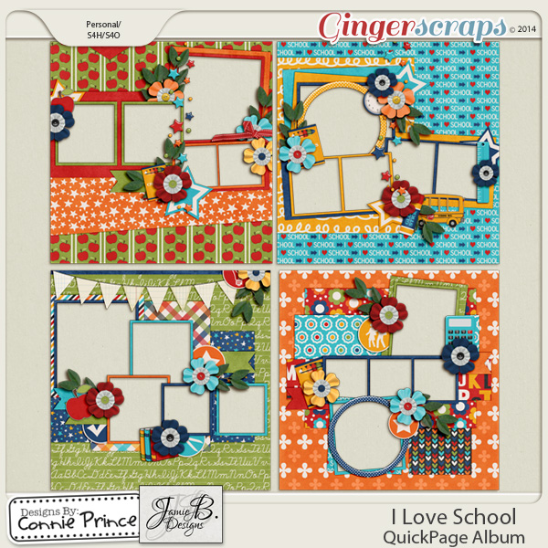 I Love School - QuickPage Album