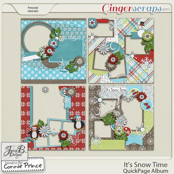 It's Snow Time - QuickPage Album
