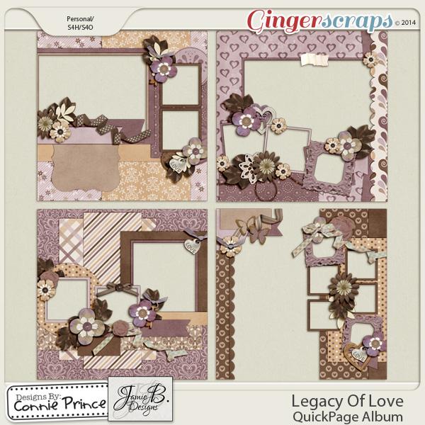 Legacy Of Love - QuickPage Album