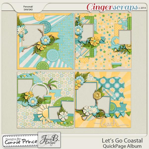 Let's Go Coastal  - QuickPage Album