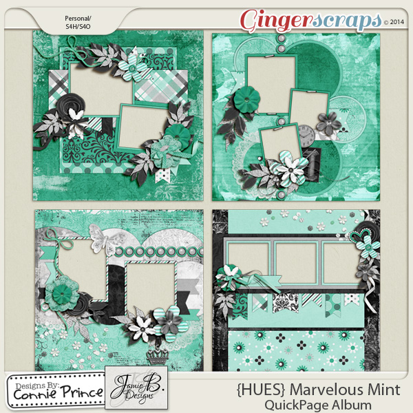 {HUES} Marvelous Mint - QuickPage Album