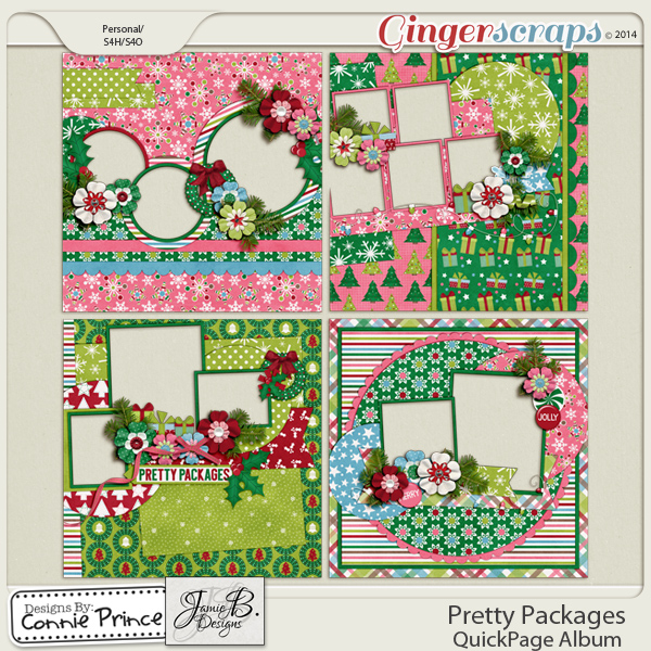 Pretty Packages - QuickPage Album