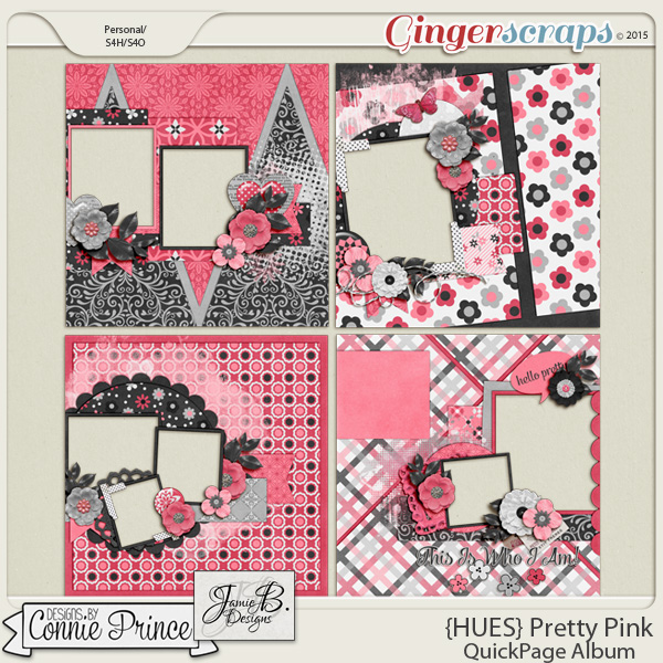 {HUES} Pretty Pink - QuickPages