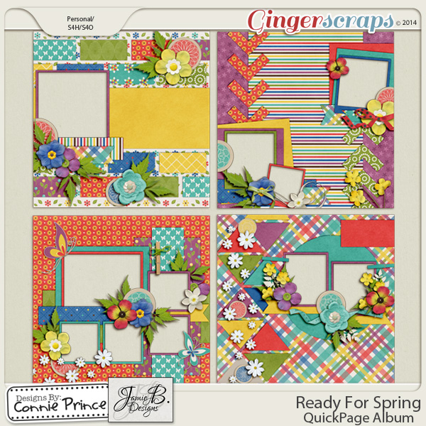 Ready For Spring - QuickPage Album