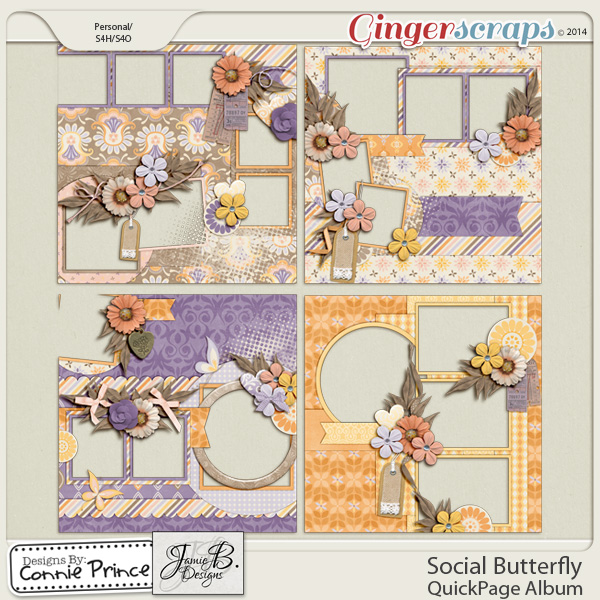 Social Butterfly - QuickPage Album