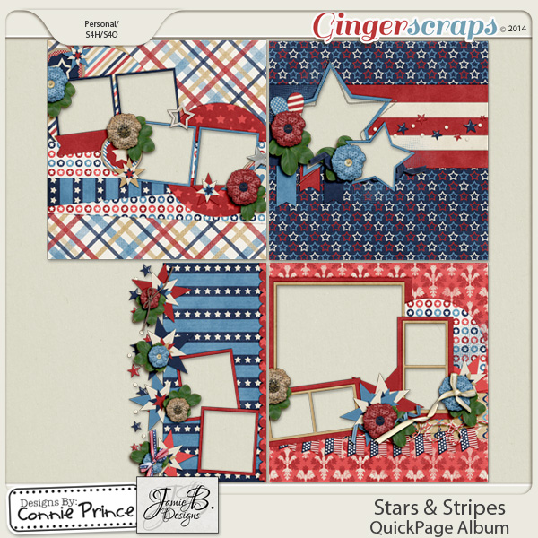 Stars & Stripes - QuickPage Album