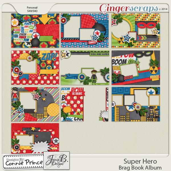 Super Hero - Brag Book Album