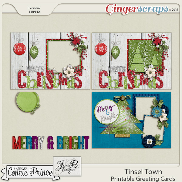 Tinsel Town - Greeting Cards