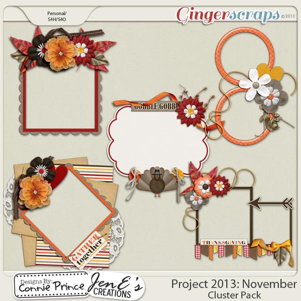 Project 2013:  November - Cluster Pack