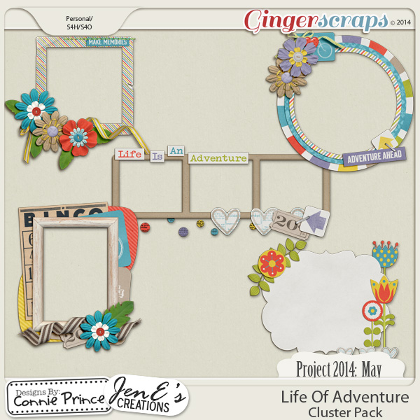 Project 2014 May:  Life Of Adventure - Cluster Pack