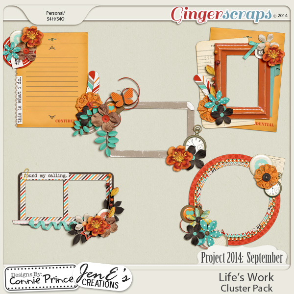 Project 2014 September:  Life's Work - Cluster Pack