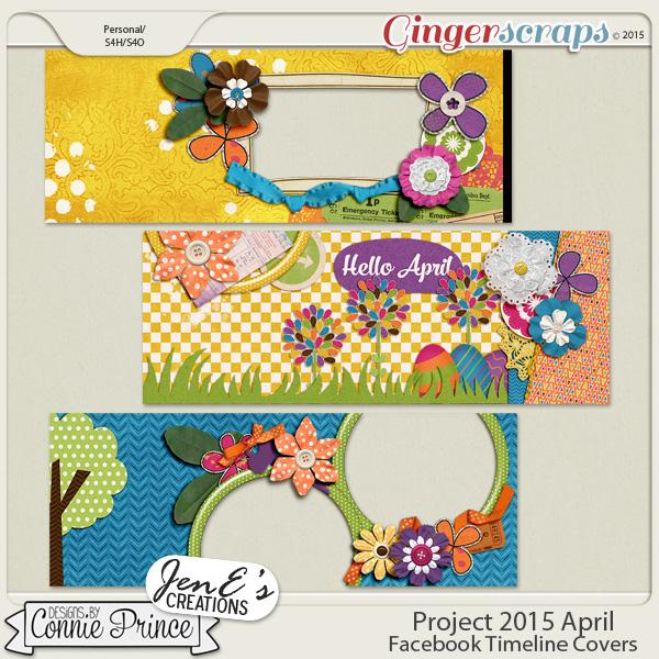 Project 2015 April - Facebook Timeline Covers