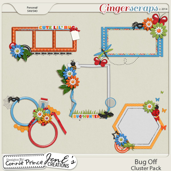 Bug Off - Cluster Pack