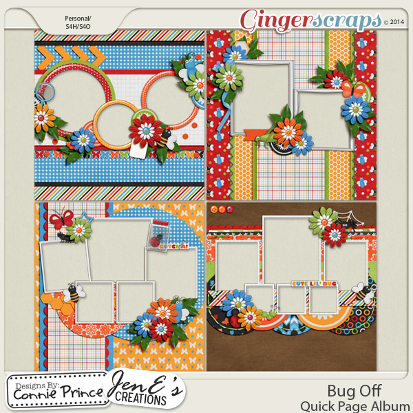 Bug Off - QuickPage Album