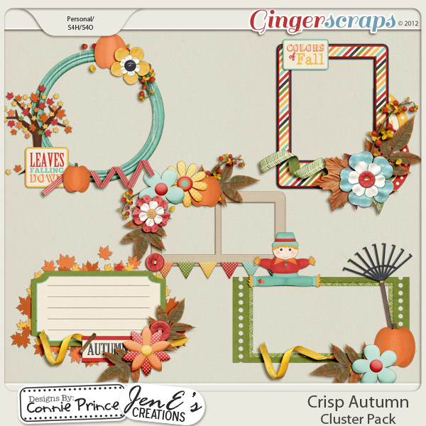 Crisp Autumn - Cluster Pack