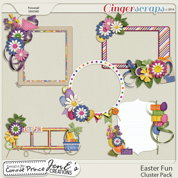 Easter Fun - Cluster Pack