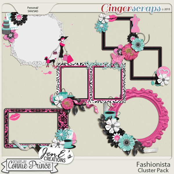 Retiring Soon - Fashionista - Cluster Pack