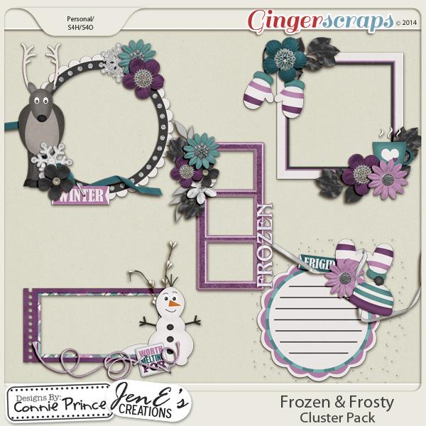 Retiring Soon - Frozen & Frosty - Cluster Pack