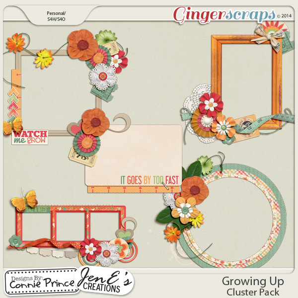 Growing Up - Cluster Pack
