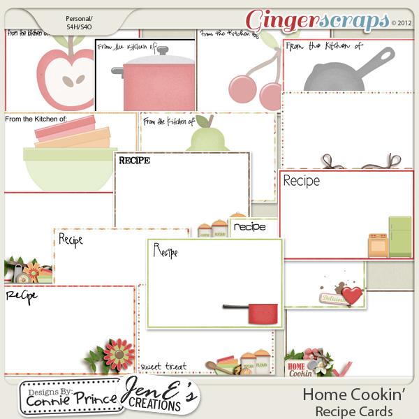 Retiring Soon - Home Cookin' - Recipe Cards