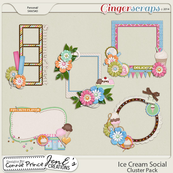Ice Cream Social - Cluster Pack