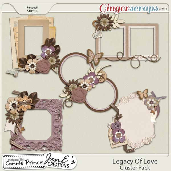 Retiring Soon - Legacy Of Love - Cluster Pack