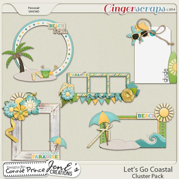 Let's Go Coastal  - Cluster Pack