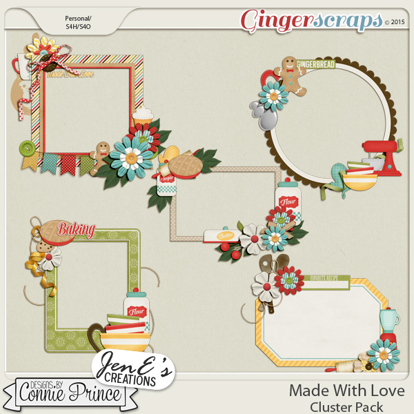 Made With Love - Cluster Pack