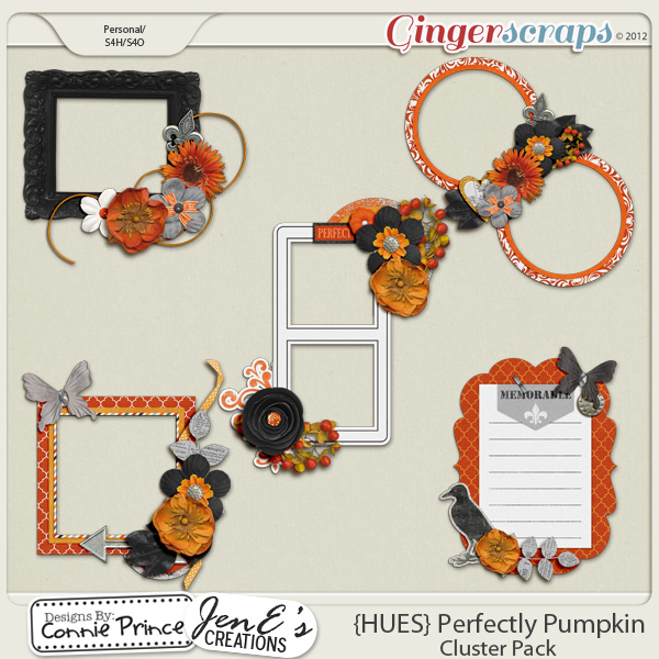 {HUES} Perfectly Pumpkin - Cluster Pack
