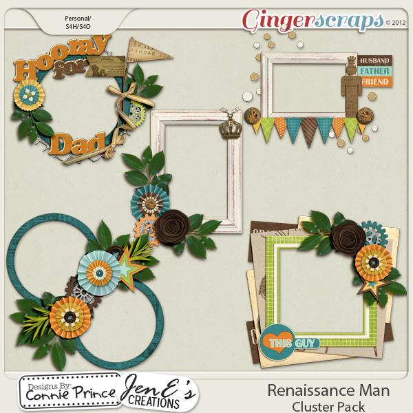 Renaissance Man - Cluster Pack