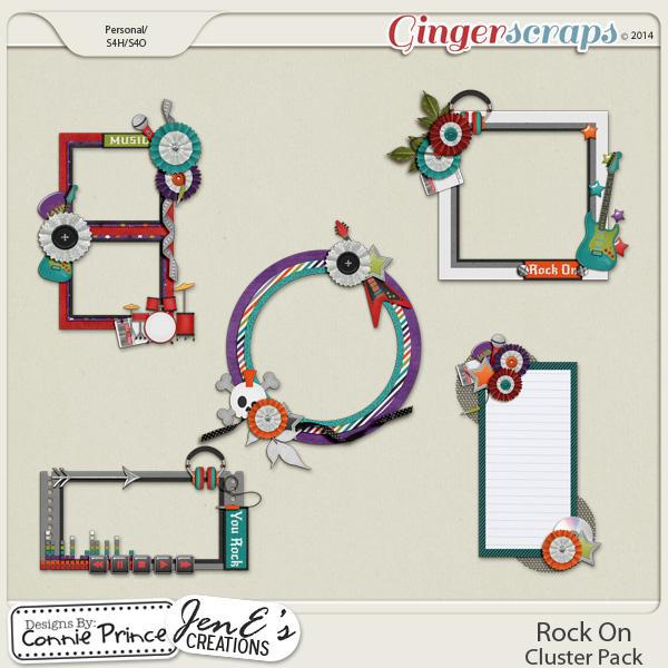 Rock On - Cluster Pack