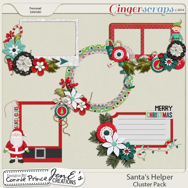 Santa's Helper - Cluster Pack