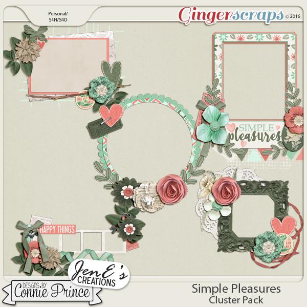 Simple Pleasures - Cluster Pack