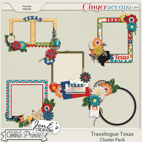 Travelogue Texas - Cluster Pack