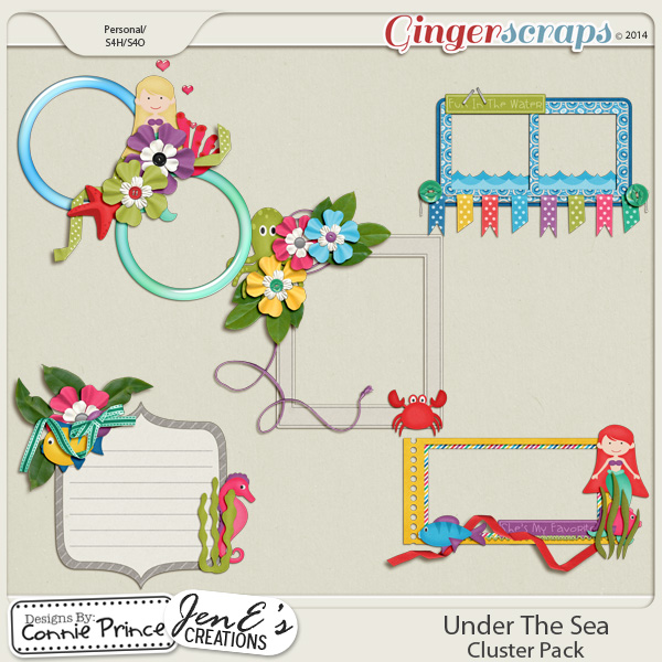 Under The Sea - Cluster Pack