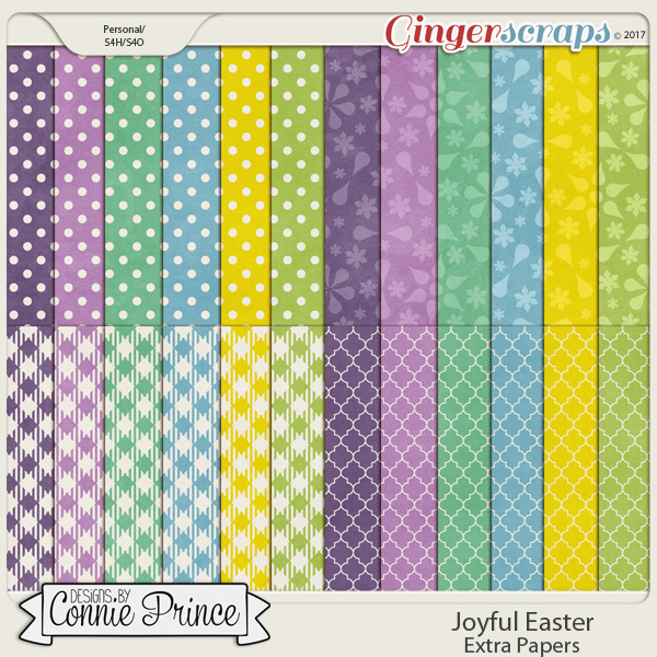 Joyful Easter - Extra Papers