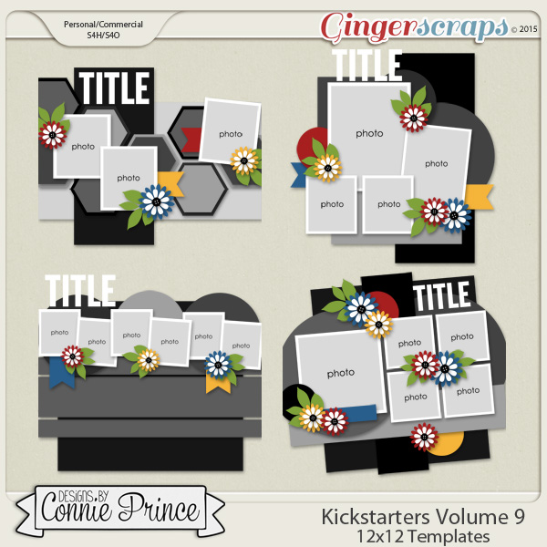 Kick Starters Volume 9 - 12x12 Temps (CU Ok)